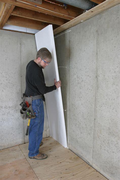 How to Insulate a Basement Wall   GreenBuildingAdvisor