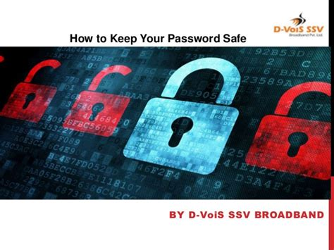 How to Keep Your Password Safe