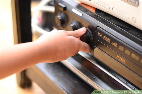 How to Listen to TV on a Radio: 5 Steps  with Pictures ...