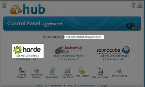 How to Log into Horde Webmail | Web Hosting Hub