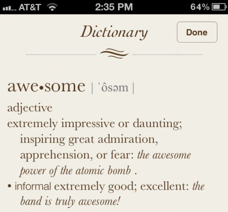 How to Look up Word Definitions in iOS 5
