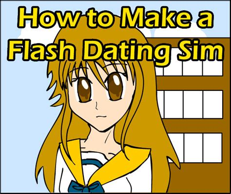 How to Make a Flash Dating Sim by Pacthesis on DeviantArt