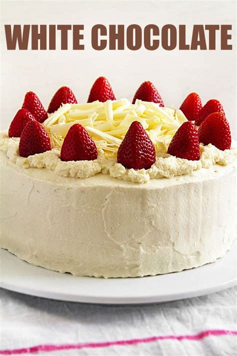 How to Make Chocolate Curls for this White Chocolate Cake ...