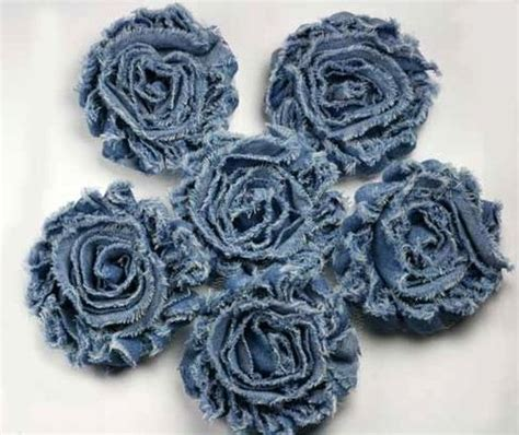 How to make flowers out of denim? ~ DIY Tutorial Ideas!