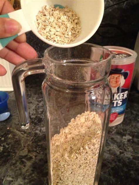 How to Make Oatmeal Juice Jugo De Avena  | Recipe  With ...