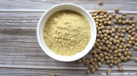 How to make soy flour