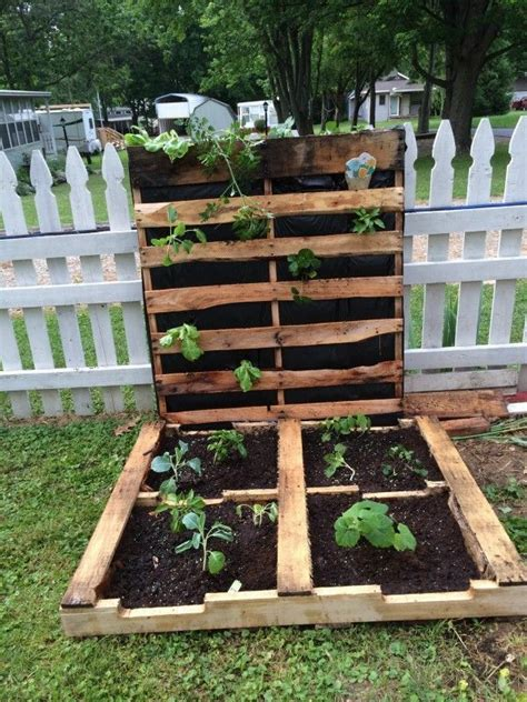 How To Make Your First Pallet Garden | Pallets garden ...