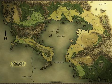 How to make your own fantasy map in 4 easy steps | Fantasy ...