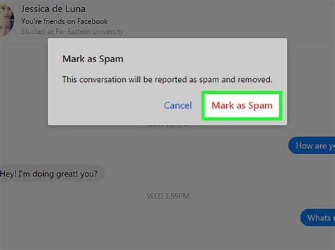 How to Mark a Facebook Messenger Conversation As Spam: 12 ...