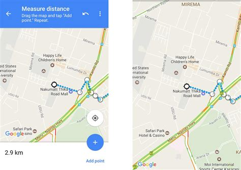 How to measure distance between two points on Google Maps ...