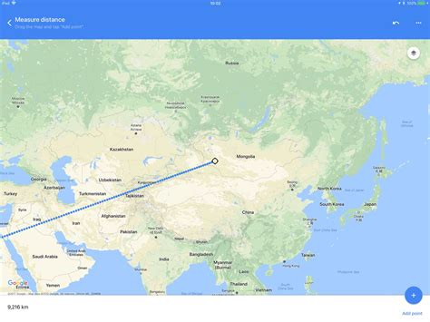 How to measure distance in Google Maps for iOS | Cult of Mac