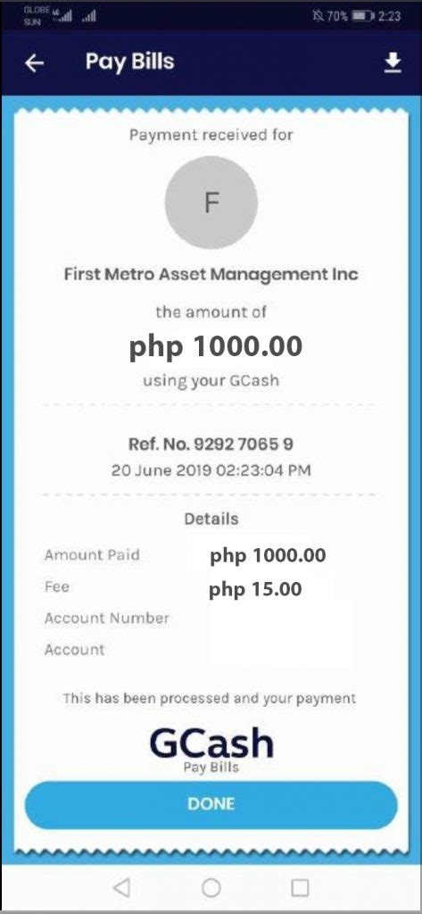 How To Pay Through GCash  for additional investments only ...