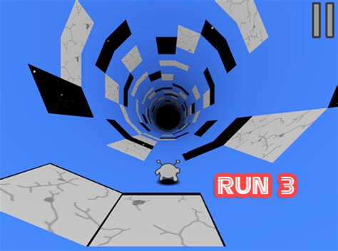 How to play Action game Run 3   cool math games