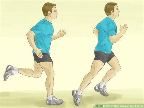 How to Run Longer and Faster  with Pictures    wikiHow