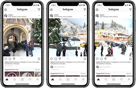 How to share panoramic photos on Instagram