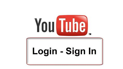How to sign in Youtube   Login Free & Easy   YouTube