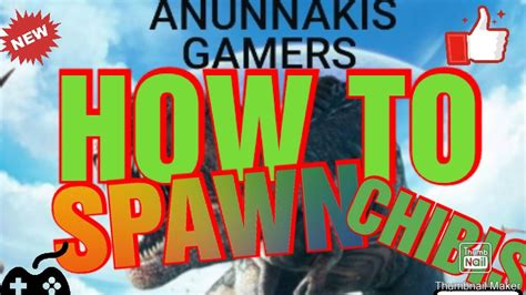 HOW TO SPAWN CHIBIS ARK SURVIVAL EVOLVED COMANDOS PS4 COMO ...