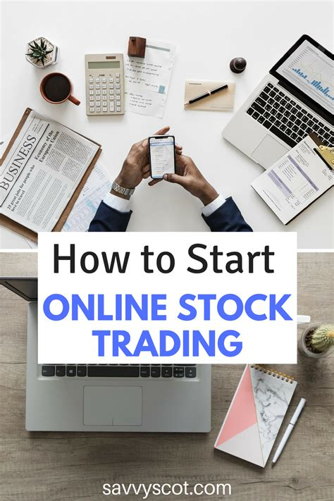 How to Start Online Stock Trading?   The Savvy Scot
