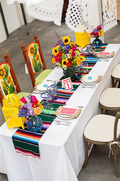 HOW TO STYLE A MEXICAN THEMED TABLE | Bespoke Bride ...