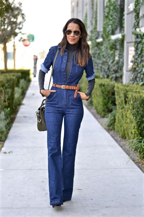 How to Style Your Denim Jumpsuit in 2019 | Denim outfit ...