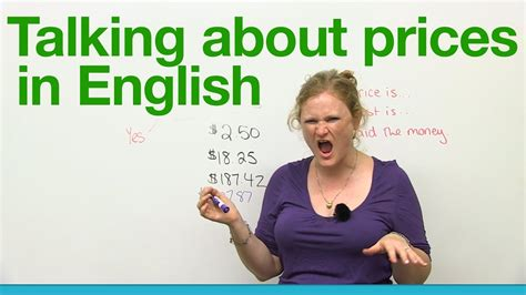 How to talk about prices in English   Basic Vocabulary ...
