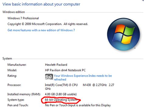 How to tell if a Windows computer has a 64 bit CPU or OS ...