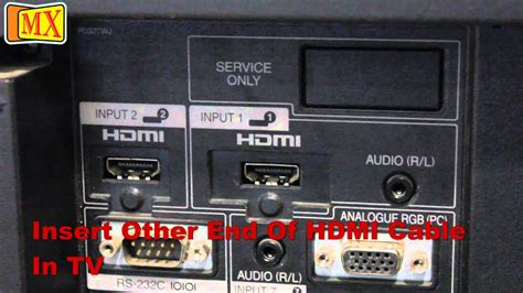 How to Use HDMI Cable for connecting DVD media players to ...