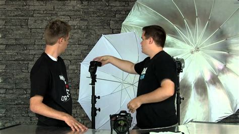How to Use Photography Umbrellas   YouTube