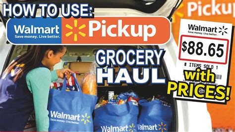 How to use Walmart grocery pick up!! Online Shopping ...