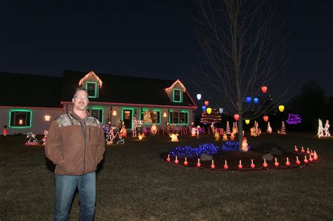 Howell Township home s Christmas light display wins annual ...