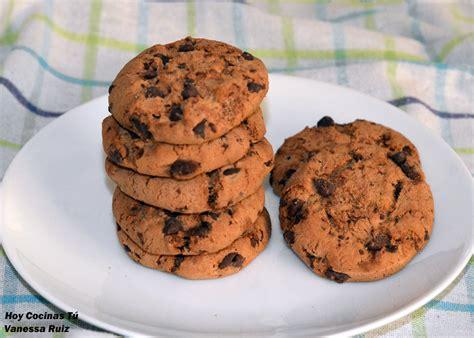 Hoy Cocinas Tú: Cookies, las clásicas galletas con pepitas ...