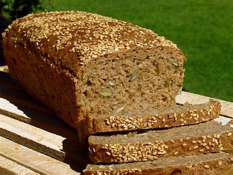 hoy hemos comido...: pan integral de centeno y espelta