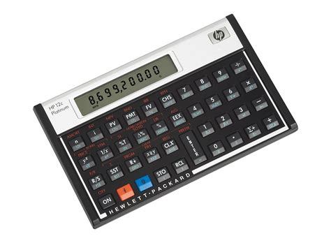 HP 12C Platinum Financial Calculator   HP Store UK