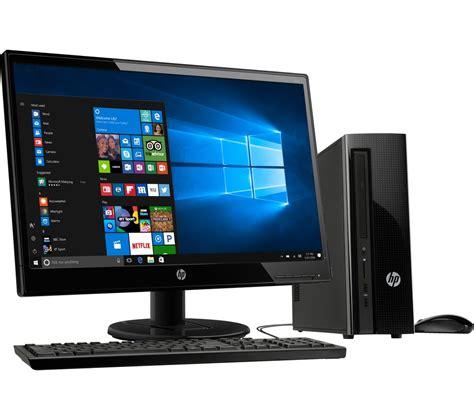 HP 260 a104na Desktop PC & 22KD Full HD 21.5  LED Monitor ...
