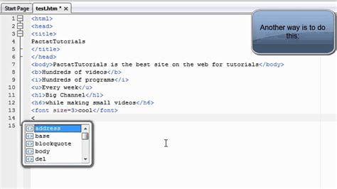 HTML Tutorial 4: How To Change Font Size and Font Faces ...