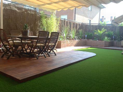 http://www.quejardines.com Diseño de terraza con tarima de ...