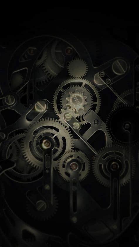 Huawei Mate Gear Dark Illust Art #iPhone #5s #wallpaper ...
