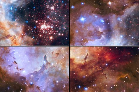 Hubble Space Telescope Celebrates 25 Years of Unveiling ...