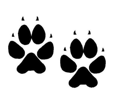 Huellas de gato, Tatuajes huellas de perro, Silueta de perro
