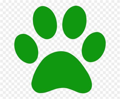 Huellas De Perro De Colores Png   Green Paw Print Clip Art ...