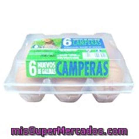 Huevo gallina campera, ., carton 6 u, mercadona