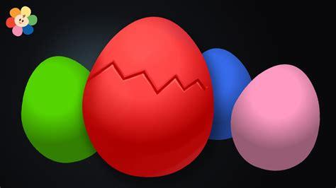Huevo Sorpresa   Aprendizaje de Colores para Ninos   Rojo ...
