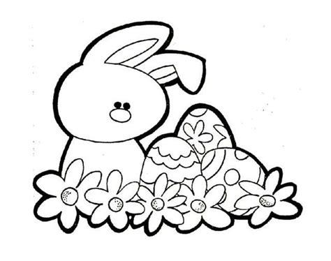 Huevos de Pascua: fotos dibujos para colorear  Foto ...