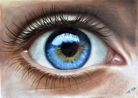 human eye, in 3d, painted by stefan pabst... ; Artist ...