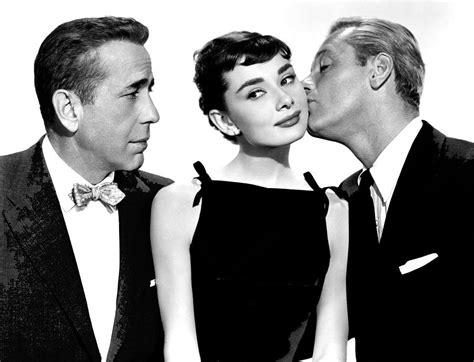 Humphrey Bogart Audrey Hepburn And William Holden Sabrina ...