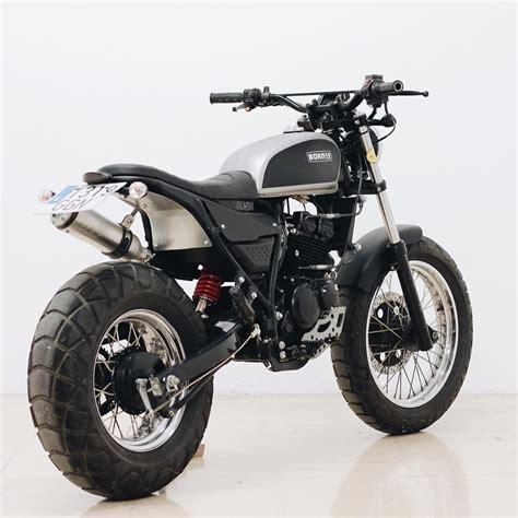 Hyosung Custom Scrambler   Bikes & Stuff   Scrambler ...