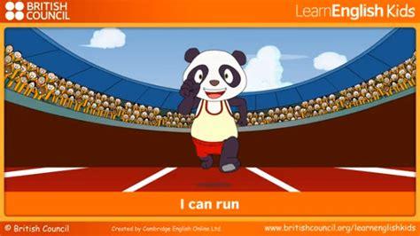 I can run | TeachingEnglish | British Council | BBC