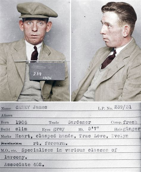 I Colorized 9 Mugshots Of Real Life 1930s Criminals And ...