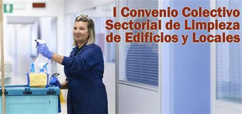I Convenio Colectivo Sectorial de Limpieza de Edificios y ...