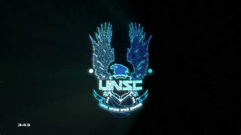 I created a Halo 4 screensaver featuring the spinning UNSC ...